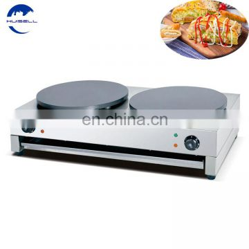 Industrial Stainless Steel Counter Top Electric GasCrepeMakerMachine and Hot Plate