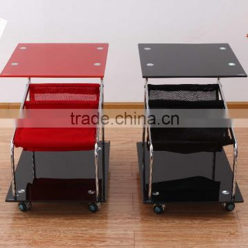 living room tempered glass end table used for restaurant and hotel small coffee table