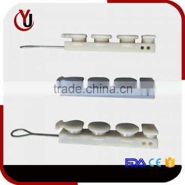 plastic drop wire clamps for FTTH cabling accessories                                                                         Quality Choice