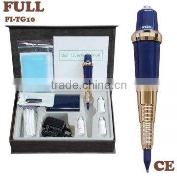 New Developed Metal Handle Tatoo Machine Pen for Eyebrow Tatoo Pen