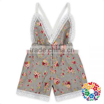 wholesale toddlers bodysuits Rainbow dots cotton infant toddlers clothing baby romper
