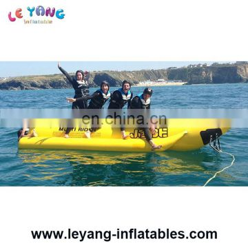 Commercial Heavy Duty Water Banana Boat Inflatable Water Tube Towable Toys
