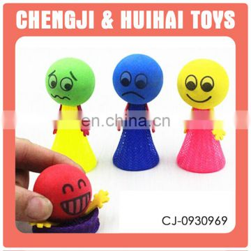 2016 new item wholesale 4 color mixed coil spring toy
