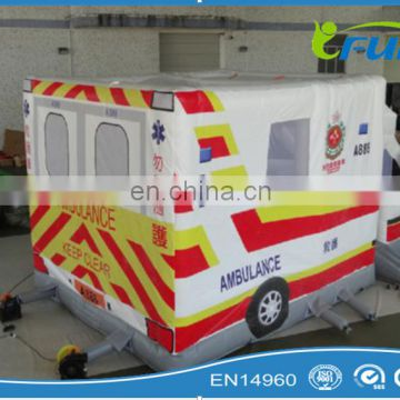 ambulance inflatable bouncy for sale