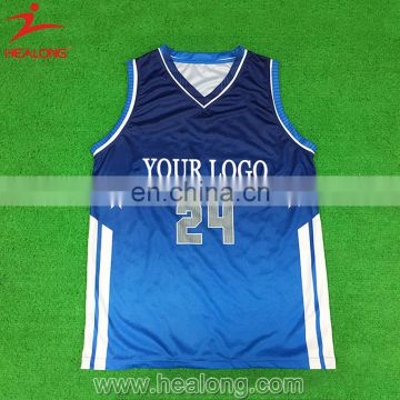 475552bf1 Healong Design Custom Double Mesh Wholesale Reversible 100% Polyester Basketball  Jerseys Uniform of Basketball Uniform from China Suppliers - 157948766
