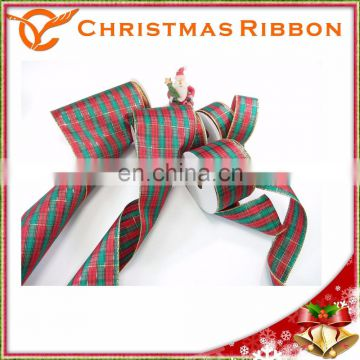 Glorious Focal Point To Any Holiday Wreath Christmas Ribbon