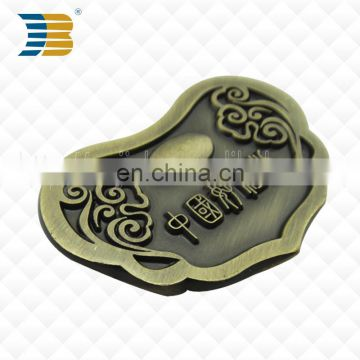 High quality bronze carved custom metal charm pendant