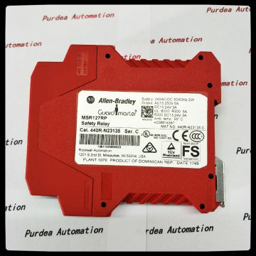 Ab Safety Relay 440r-m23088 Msr138.1dp Cat 4 Safety Relay