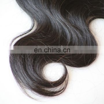 cheap body wave human hair weaving free parting lace closure with baby hair and unprocessed virgin peruvian hair bundles