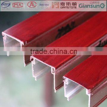American cherry purplish red seal coated aluminium