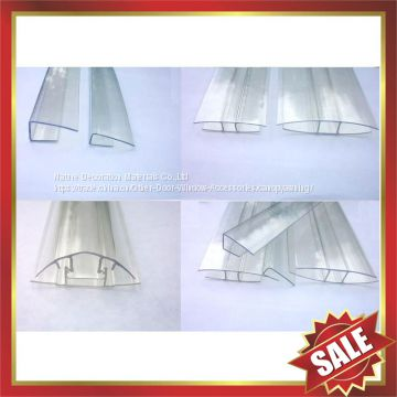 polycarbonate Buckle,pc Snap,pc Connector,polycarbonate profile for polycarbonate sheet