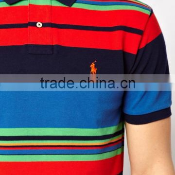 2016 Polo shirt ,wholesale striped t-shirt,custom polo shirt