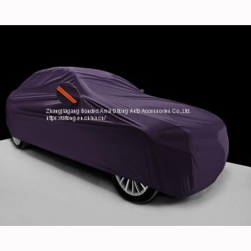 Purple 190T polyester car covers