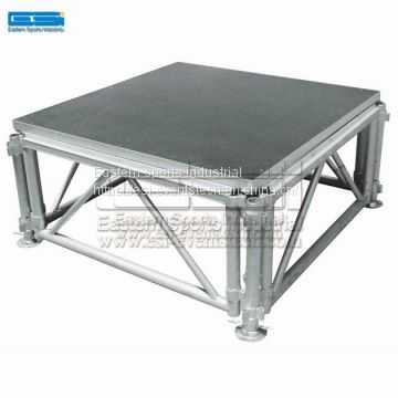Aluminum stage truss manufacturers, Adjustable stage Portable Stages,stage lighting truss used