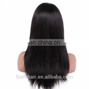 silk base human hair full lace wig with baby hair,8A grade lace human hair wig,top grade free lace wig samples