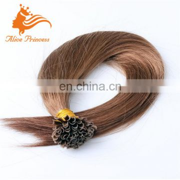 Virgin U tip 8A Grade Hair Brazilian Extenisons Remy Hair Extensions 1g/Strand U Tip Pre Bonded Human Hair Extensions 100g/pc
