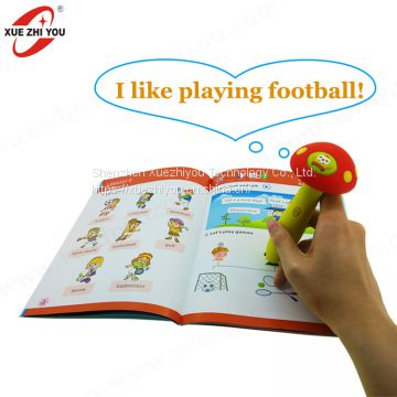 OEM ODM Read Pen Toy Touch Talking Pen for Kids Learning