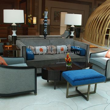 Hotel Lobby Sofa And Table Furniture