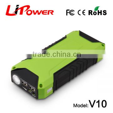 12v battery chargers 600A peak current car battery jump starter with smart boost cable