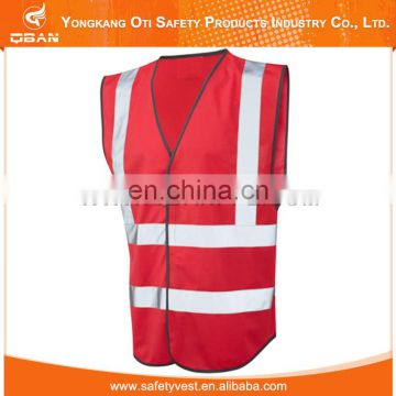 Reflective safety vest hi vis work vest
