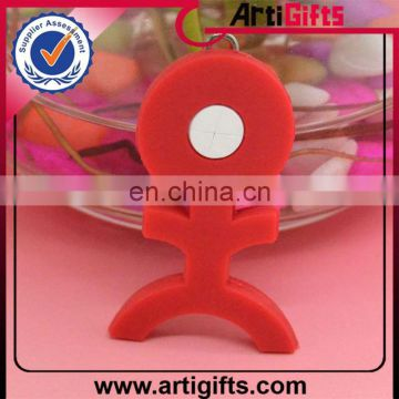 Custom design cheap plastic zipper puller