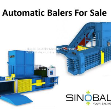 Fully Automatic Horizontal Balers For Sale