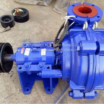 AH series horizontal wear resistant slurry pump material is KmTBCr30 with good performance and long service life.