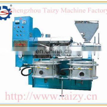 Squeeze shelled peanut oil machine with vacuum filtration