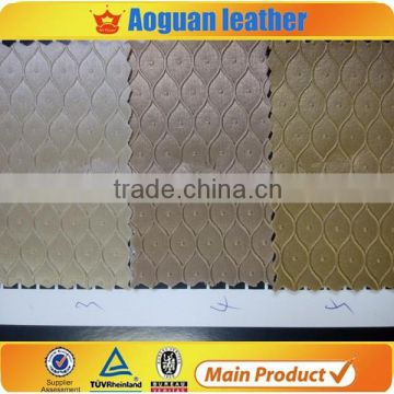 synthetic leather factory cheap and hot selling designs for shoes and bag sofa home textiles T4588