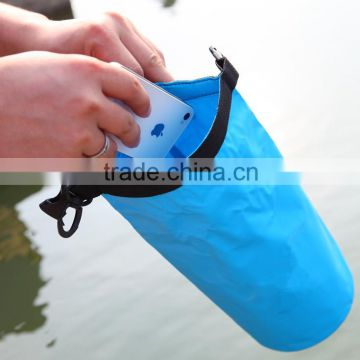 Outdoor 500D PVC tarpaulin sport boating small waterproof mesh dry bag                                                                         Quality Choice