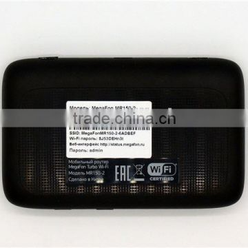 Unlock 150Mbps ZTE MF910L Portable 4G LTE Pocket WiFi Router Support LTE FDD 800/1800/2600MHz