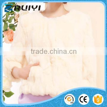 women boutique wholesale slim man-made fur winter coat
