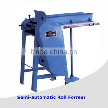 Semi-automatic paint can roll forming equipment