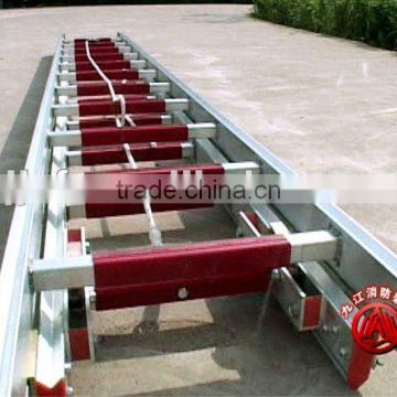 12meter or 15m aluminum ladder/ aluminum ladder professional manufacturers