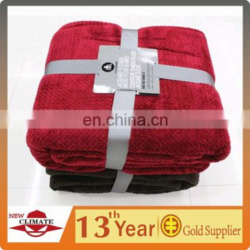 wholesale 100% polyester super soft micro fleece blanket