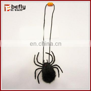Wholesale plush halloween spider decorations