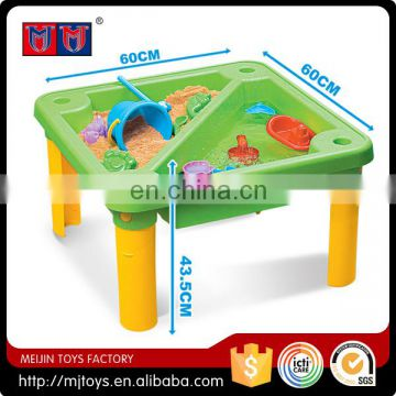 Summer hot outdoor product 2016 Beach Play Set toy beach table for kids