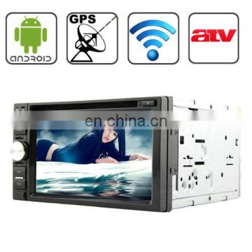 Universal 6.2 inch Android 4.2 Multi-Touch Capacitive Screen In-Dash Car DVD Player with WiFi / GPS / RDS