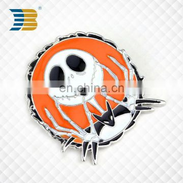 soft enamal metal custom Halloween lapel pin badge