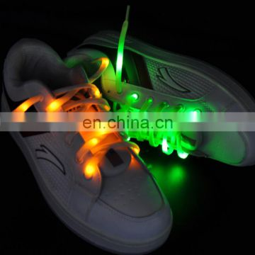 Hot sale Light up LED Shoelaces / Glowing Shoe Laces