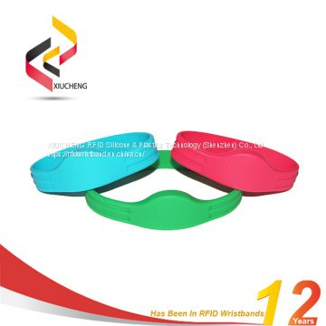 Factory Custom RFID Wristbands Bracelets For Swimming Pool