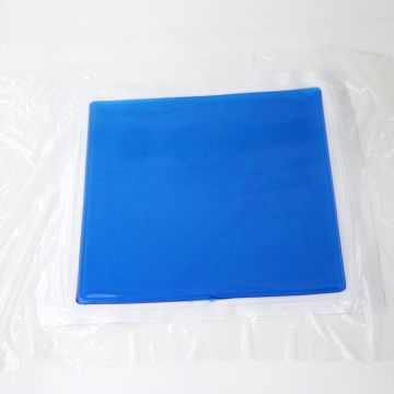 MSDS factory PU breathable pillow mattress cooling gel pad