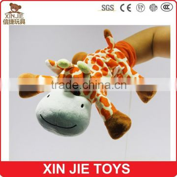 hot selling lion shape hand puppet custom paw shape hand and finger puppet cheap animal shape hand puppet