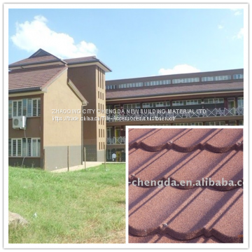 New Type stone coated metal roof/roofing