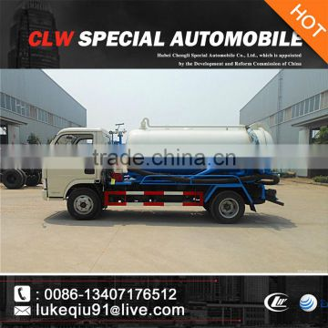 3000-5000L lifting sewage truck for sale for sales