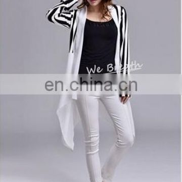Ladies' shawl cardigan styling cover up made with bamboo and chiffon