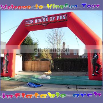 Welcome inflatable entrance arch for promotion