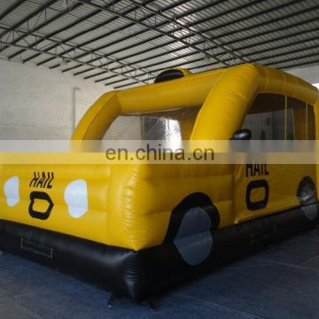 taxi inflatable bouncer