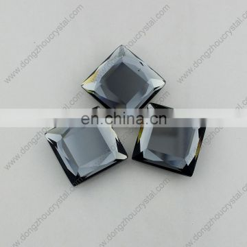 new arrival top fashion decorative mirror-surface crystal glass stones for garment