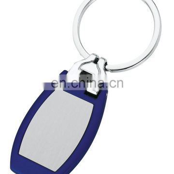 promotion stainless steel metal key tag keychain